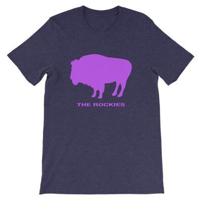 The Rockies Bison - T-Shirt (Multi Colors)