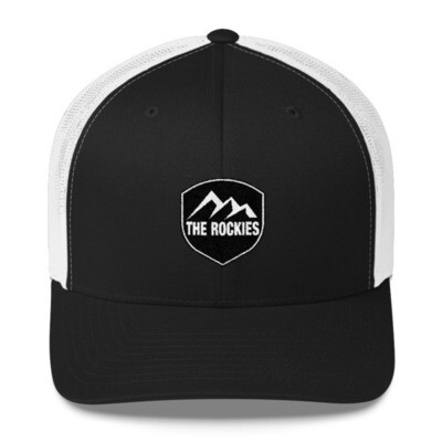 The Rockies - Trucker Cap (Multi Colors) The Rocky Mountains Canadian American Rockies