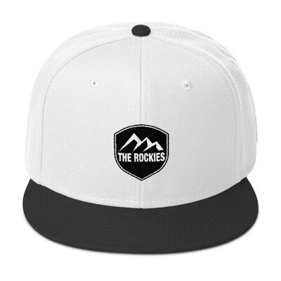 The Rockies - Snapback Hat (Multi Colors) Canadian American Rocky Mountains