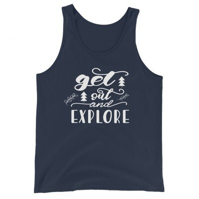 Get Out & Explore - Tank Top (UNISEX) (Multi Colors)