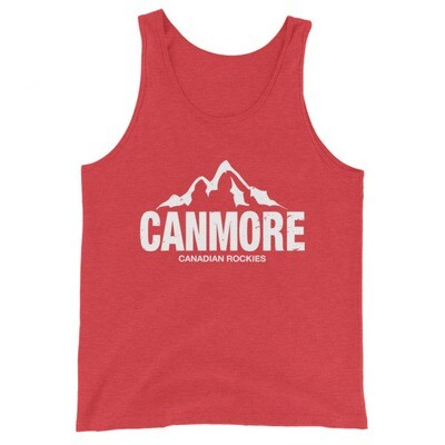 Canmore Alberta Canada - Tank Top (Multi Colors) The Rockies Canadian Rocky Mountains