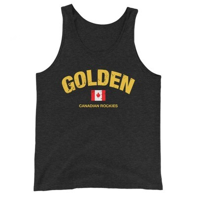 Golden British Columbia Canada - Tank Top (Multi Colors) Canadian Rockies The Rocky Mountains