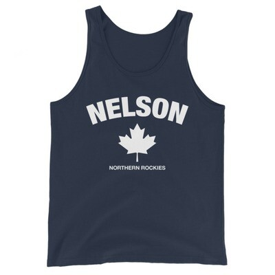 Nelson British Columbia Canada - Tank Top (Multi Colors) The Rockies Canadian Rocky Mountains