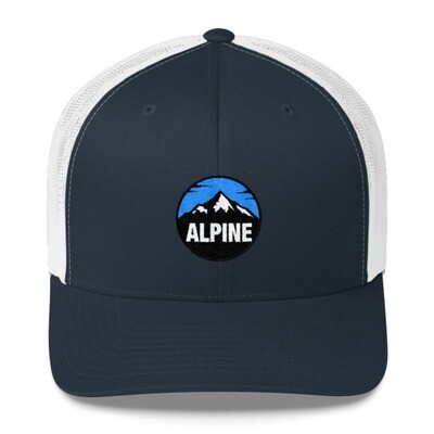 Alpine - Trucker Cap (Multi Colors) The Rocky Mountains Canadian American Rockies