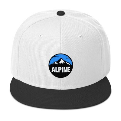 Alpine - Snapback Hat (Multi Colors) The Rocky Mountains Canadian American Rockies