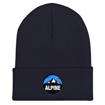Alpine - Cuffed Beanie (multi Colors) The Rocky Mountains Canadian American Rockies