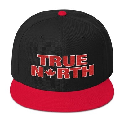 True North - Snapback Hat (Multi Colors) The Rockies Canadian Rocky Mountains