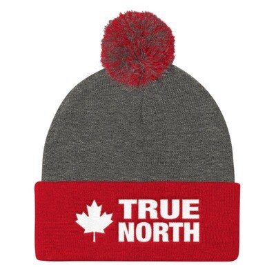 True North - Pom Pom Knit Cap (Multi Colors) The Rocky Mountains Canadian American Rockies