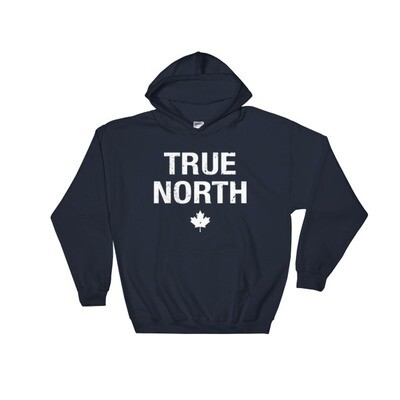 True North - Hooded Sweatshirt (Multi Colors) The Rockies Canadian Rocky Mountains