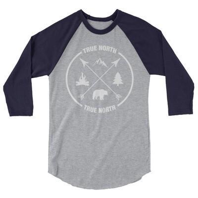 True North - 3/4 sleeve raglan shirt (Multi Colors)