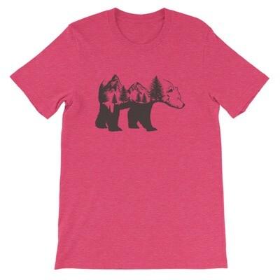 Bear landscape - T-Shirt (Multi Colors)
