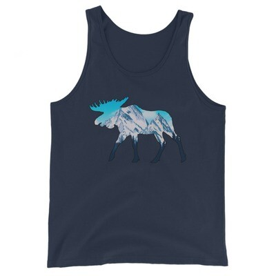 Moose Landscape - Tank Top (UNISEX) (Multi Colors)