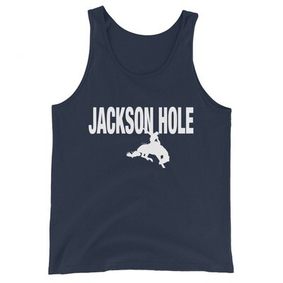 Jackson Hole Wyoming USA - Tank Top (Multi Colors) American Rockies The Rocky Mountains