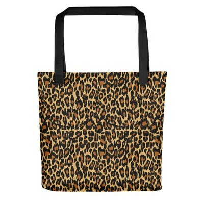 Gold Leopard Print - Tote bag
