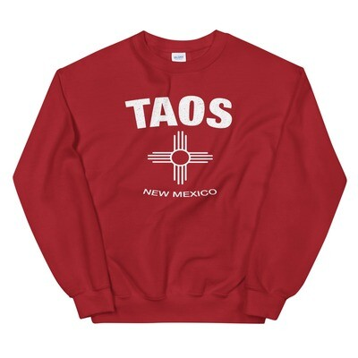 Taos New Mexico USA - Sweatshirt (Multi Colors) The Rockies American Rocky Mountains