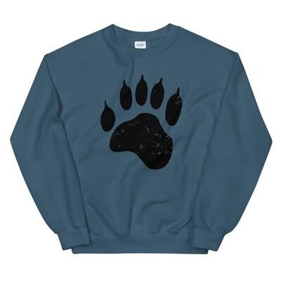 Bear Paw - Sweatshirt (Multi Colors) The Rocky Mountains, Canadian, American Rockies