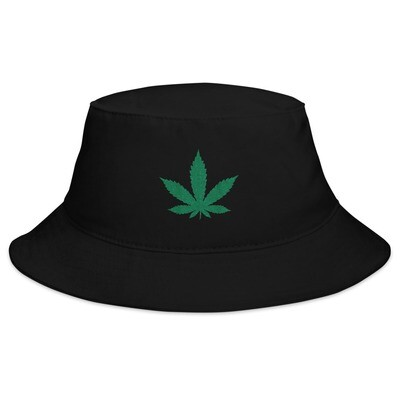 Hemp Cannabis Marijuana Logo - Bucket Hat (Multi Colors)