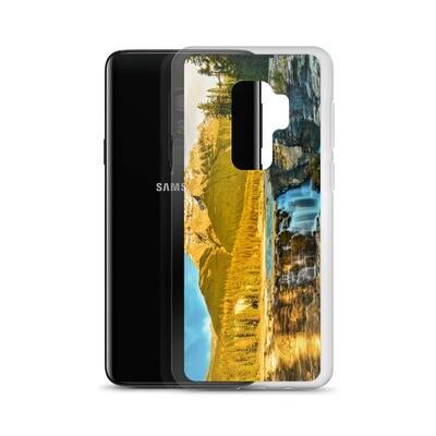Samsung Case - Athabasca Falls Jasper Alberta Canada The Rockies Canadian Rocky Mountains