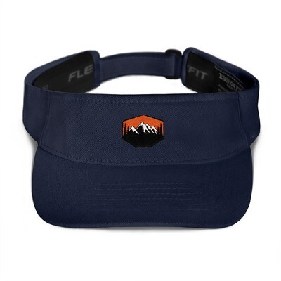 Sunset Mountains & Pine - Visor (Multi Colors) The Rocky Mountains Canadian American Rockies