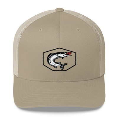 Fishing - Trucker Cap (Multi Colors) The Rocky Mountains Canadian American Rockies