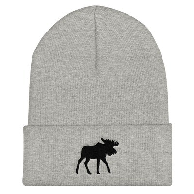 Black Moose - Cuffed Beanie (Multi Colors) The Rocky Mountains Canadian American Rockies