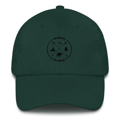 The Rockies - Baseball / Dad hat (Multi Colors) Canadian American Rocky Mountains