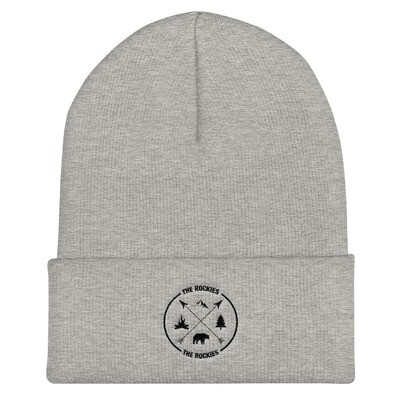The Rockies - Cuffed Beanie (Multi Colors) Canadian American Rocky Mountains