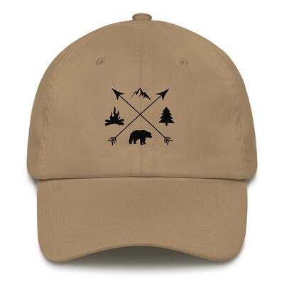 The Rockies Lifestyle - Baseball / Dad hat (Multi Colors) Canadian American Rocky Mountains
