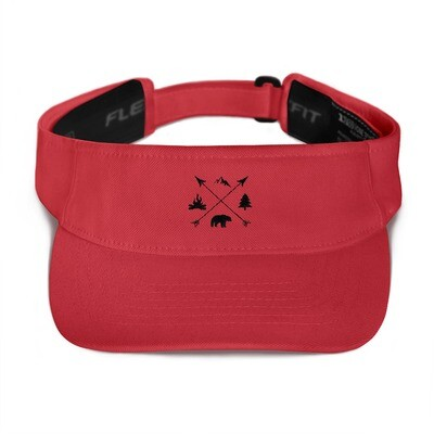 The Rockies Lifestyle - Visor (Multi Colors) Canadian American Rocky Mountains