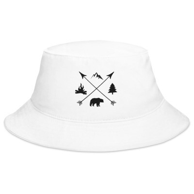 The Rockies Lifestyle - Bucket Hat (Multi Colors) Canadian American Rocky Mountains