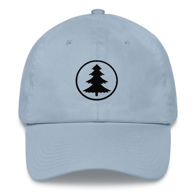 Pine Tree - Baseball / Dad hat (Multi Colors) The Rocky Mountains Canadian American Rockies