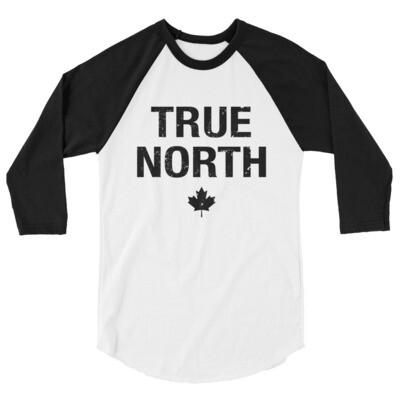 True North - 3/4 sleeve raglan shirt (Multi Colors) The Rockies Canadian Rocky Mountains