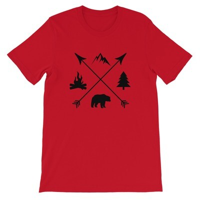 The Rockies Lifestyle - T-Shirt (Multi Colors)  Canadian American Rocky Mountains