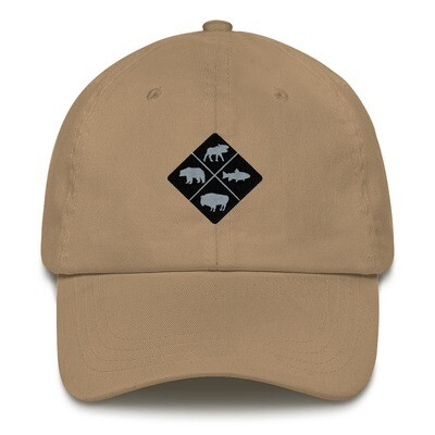 The Rockies Wildlife Crest - Baseball / Dad hat (multi Colors) Canadian American Rocky Mountains