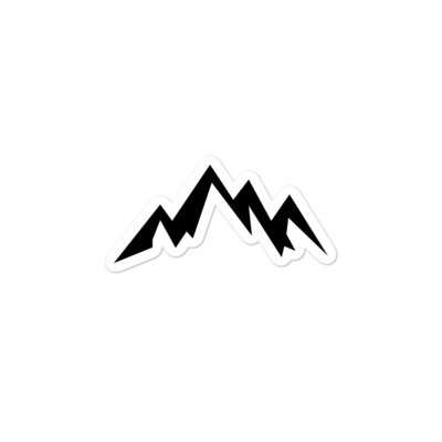 Mountains - Vinyl Bubble-free stickers (Multi Sizes) The Rocky Mountains Canadian American Rockies