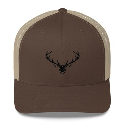 Dear Head - Trucker Cap (Multi Colors) The Rocky Mountains Canadian American Rockies