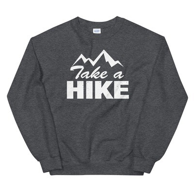 Take A Hike - Sweatshirt (Multi Colors) The Rockies Canadian American Rocky Mountains