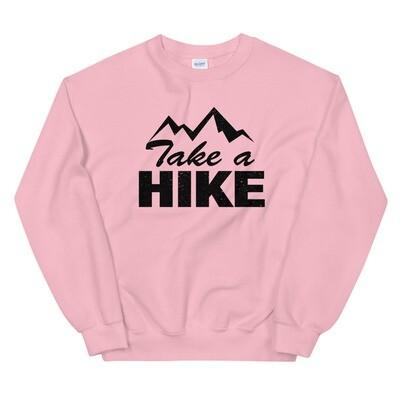 Take A Hike - Sweatshirt (Multi Colors) The Rocky Mountains Canadian American Rockies