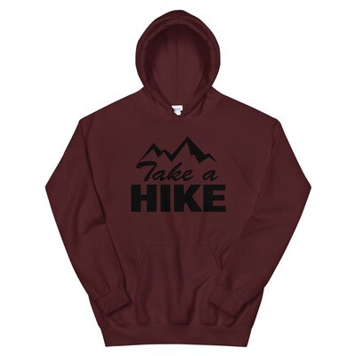Take A Hike - Hoodie (Multi Colors) The Rocky Mountains Canadian American Rockies