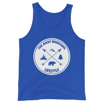 The Rocky Mountains Lifestyle - Tank Top (Multi Colors) The Canadian American Rockies