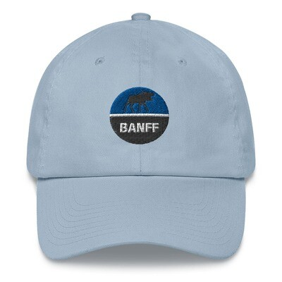 Banff Alberta Canada - Baseball / Dad hat (Multi Colors) The Rockies Canadian Rocky Mountains