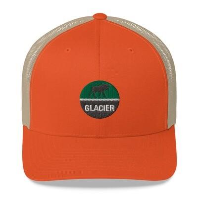 Glacier - Trucker Cap (Multi Colors) The Rocky Mountains Canadian American Rockies