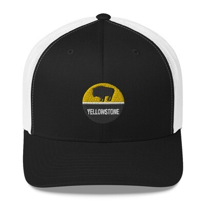 Yellowstone - Trucker Cap (Multi Colors) The Rocky Mountains American Rockies