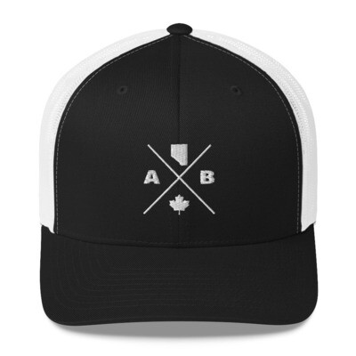 Alberta Lifestyle - Trucker Cap (Multi Colors) The Rockies Canadian Rocky Mountains