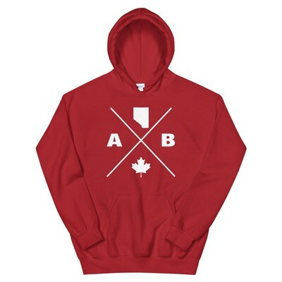 Alberta Lifestyle - Hoodie (Multi Colors) The Rockies Canadian Rocky Mountains