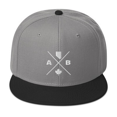 Alberta Lifestyle - Snapback Hat (Multi Colors) The Rockies Canadian Rocky Mountains