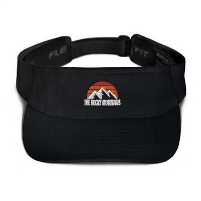 The Rocky Mountains - Visor (Multi Colors) Canadian American Rockies