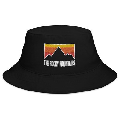 The Rocky Mountains - Bucket Hat (Multi Colors) Canadian American Rockies