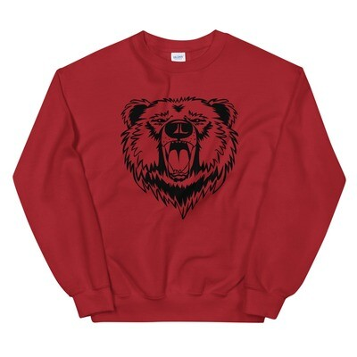 Bear - Sweatshirt (Multi Colors) The Rockies  Canadian American Rocky Mountains