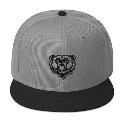 Bear - Snapback Hat (Multi Colors) The Rocky Mountains Canadian American Rockies